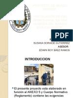 INSTALACIÓN DE GAS DOMICILIARIA  EN UNA VIVIENDA DEL BARRIO DORADO NORTE