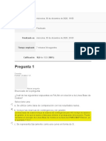 Evaluaciones Direccion de Proyectos II