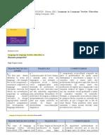 FICHAMENTO DE LANGUAGE IN LANGUAGE TEACHER EDUCATION