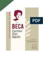 Beca Carmen Diez Martin Bases