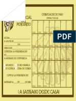 CREDENCIAL DEL CAMINO DESDE CASA