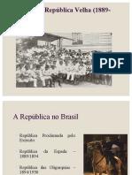 (SLIDE 4) Educação Na República Velha