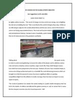 Impact of COVID 19 on Sports SUMMARY