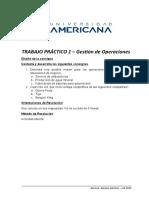 TP1 - Gestión de Operaciones