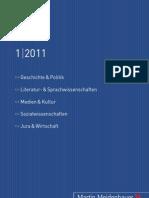 Martin Meidenbauer Verlag_Vorschau 01_2011