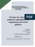 El control interno de los órganos del Gobierno Central