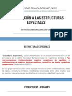 1. Introducción a Estructuras Especiales