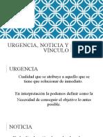 Urgencia, noticia y vínculo (1)