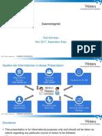 1 - Data Integrity - Managing DI and CC 169