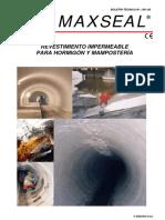02 FT Impermeabilizante de Cisterna (MAXSEAL ESP)_PRECO