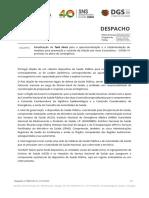 Atualização da Task Force para a operacionalização e a implementação