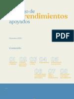 Catálogo curso para emprendedores