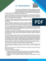 8 Caso práctico - Deudas por cobrar - Benicio Martínez