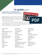 Diversity Journal | 2010 Diversity Leader Award