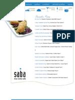 http   www sabacafe com menu