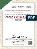 Constancia Alicia