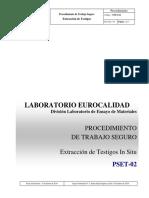 CCU-PTS-OO.CC.-005_0 -PSET-02   C. Extracción de Testigos