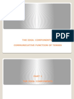 Class_THE IDEA COMPONENTS and communicative function verbs