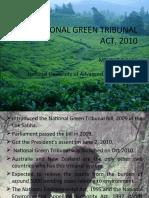 NATIONAL GREEN TRIBUNAL ACT, 2010 1