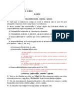 CONTRATO DE COMPRA E VENDA- Efeitos