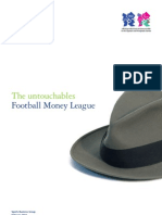 Study Deloitte 2011 - Football Money League