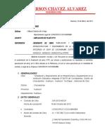 INFORME DE AMPLIACION DE PLAZO