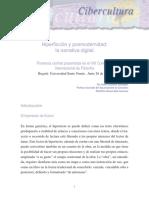 Hiperficci on y Posmodernidad La Narrativa Digital