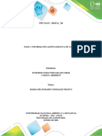 Fase 2 Desarrollar la investigacion Agroclimatologica de la zona, Esneider Vergara