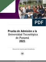 Manual de Usuario del estudiante -  Ingreso 2021