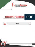 Lab5 Effectively Using Suricata