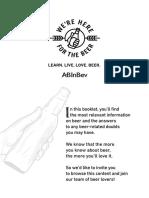 Booklet Beer Lover