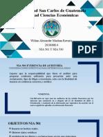 NIA 501 y NIA 530 Wilian Machan 201808814