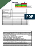 Quality Disruption Process Audit