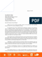 Citrus Health Network letter to Chief Inspector General Melinda Miguel