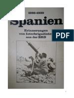 ESPANA 1936 1939 Recuerdos de Brigadista