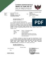 Surat Undangan Tahap Akhir untuk penentuan Squad
