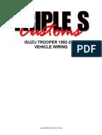 Isuzu Trooper 1992-2002