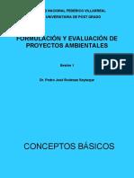 clase 1 - conceptos basicos, ciclo de proyectos, diagnostico o linea base