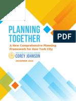 Planning Together Final Report December 16 2020