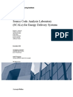 Source Code Analysis Laboratory (SCALe) for Energy Delivery Systems