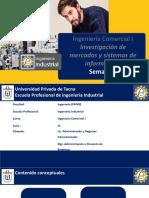 Semana 4 Investigación de Mercados y Sistemas de Información.