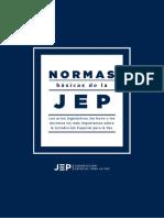 libro normas básicas de la JEP version web