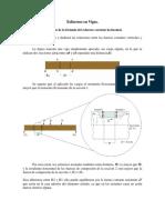1 Deducción de La Formula de Esfuerzo Cortante