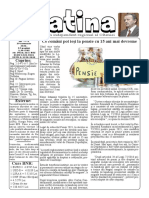 Datina - 29.01.2021 - prima pagină