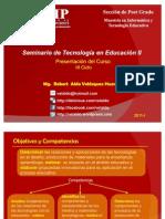Seminario de Tecnologías en Educación II