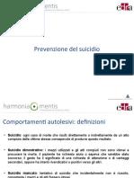 prevenzione del suicidio