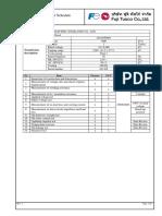 Transformer Test Item-2041DT0064 Rev.2