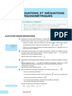 Equtions Et Inequations Trigonometriques 1