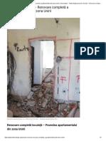 Renovare Completă Locuință – Povestea Apartamentului Din Zona Unirii, Universitate – Total DesignJurnal de Renovări – Renovare Completă a Apartamentului Din Zona Unirii