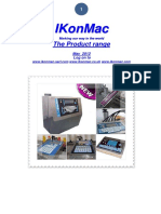 IKonMac. Marking our way in the world The Product range. May 2012 Log on to